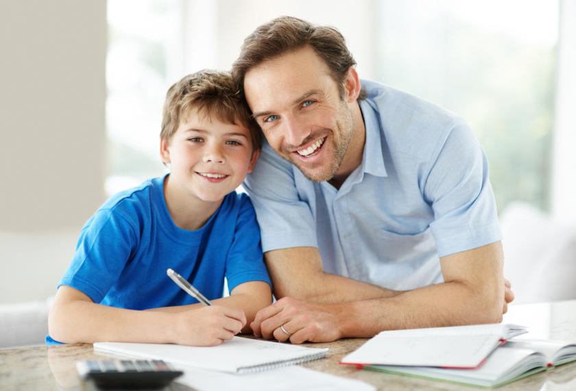 padres hijos estudios
