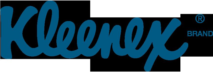 Logo Kleenex Azul
