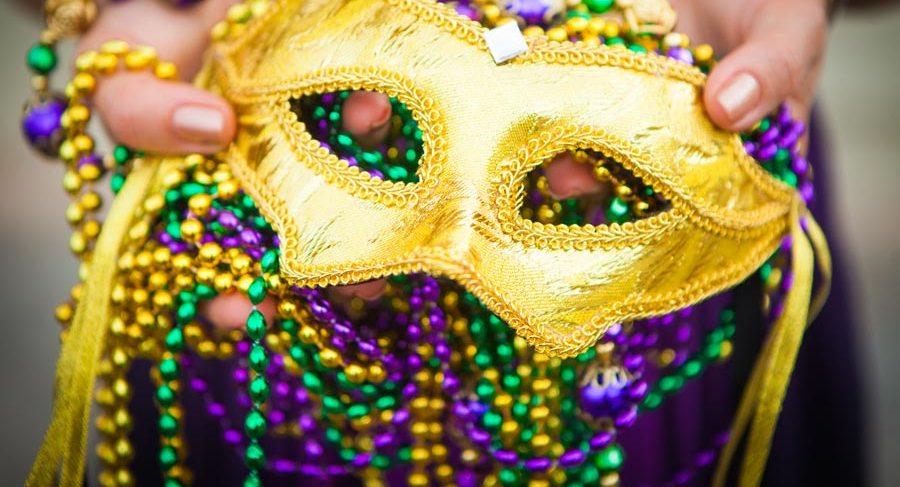 carnaval mascarade mascaras y collares
