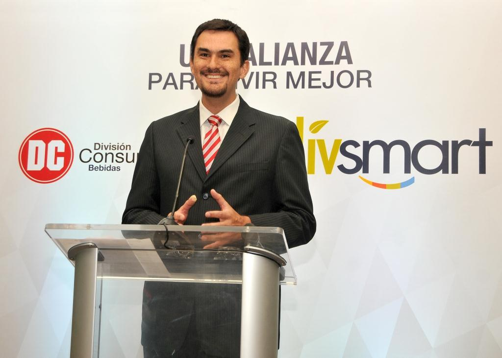 Luis Mora Director Comercial Livsmart