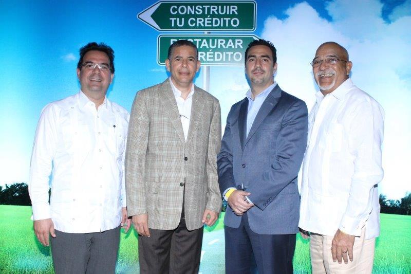 Gustavo Zuluaga Fernando Chevalier Fabio Baez y Francisco Melo
