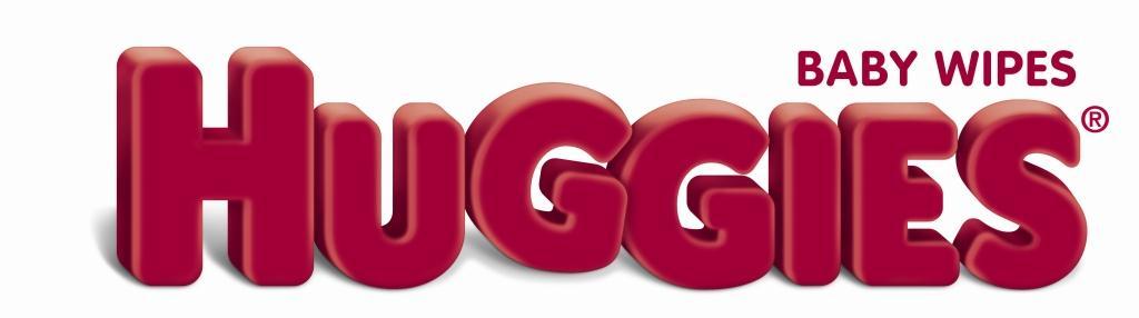 Logo Huggies Baby Wipes Blanco