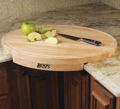 the corner cutting board