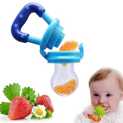 Baby Feeding Pacifier Fresh Food Fruits Feeder Dummy 57