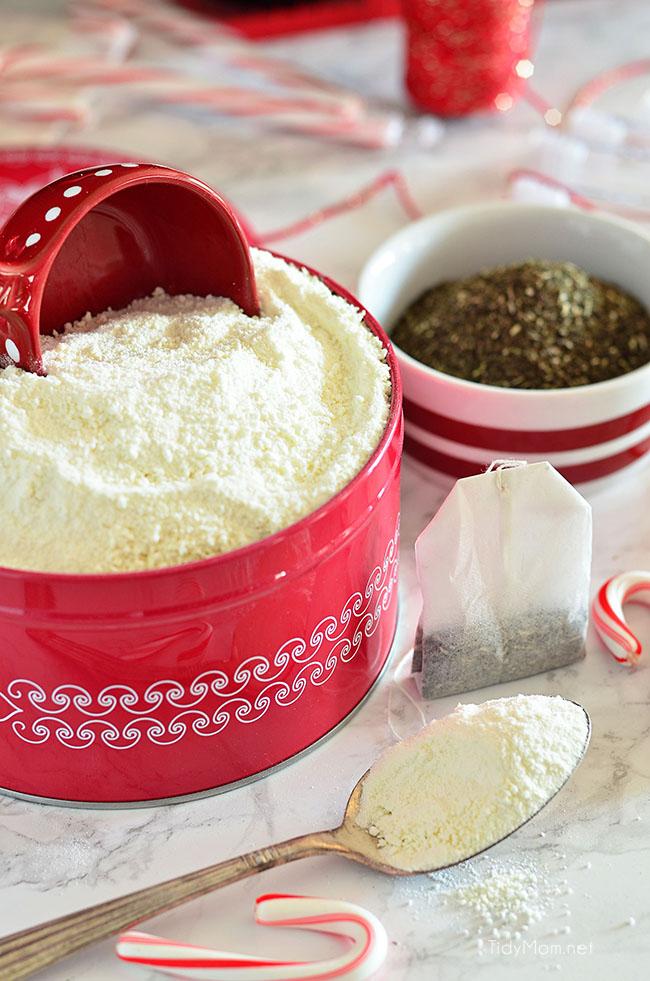 peppermint milk bath ingredients