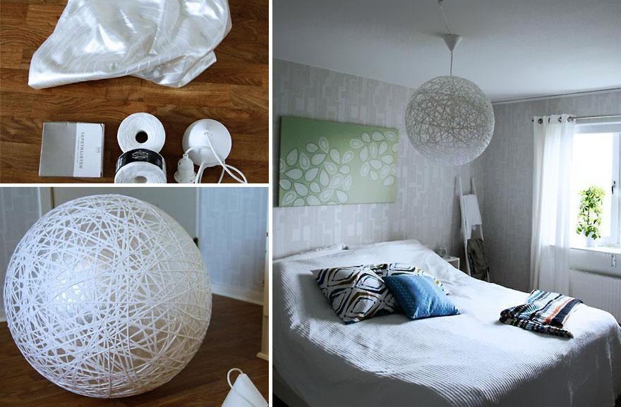 creative diy lamp chandelier 34