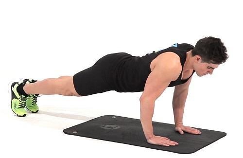 como hacer flexiones de pectorales correctamente
