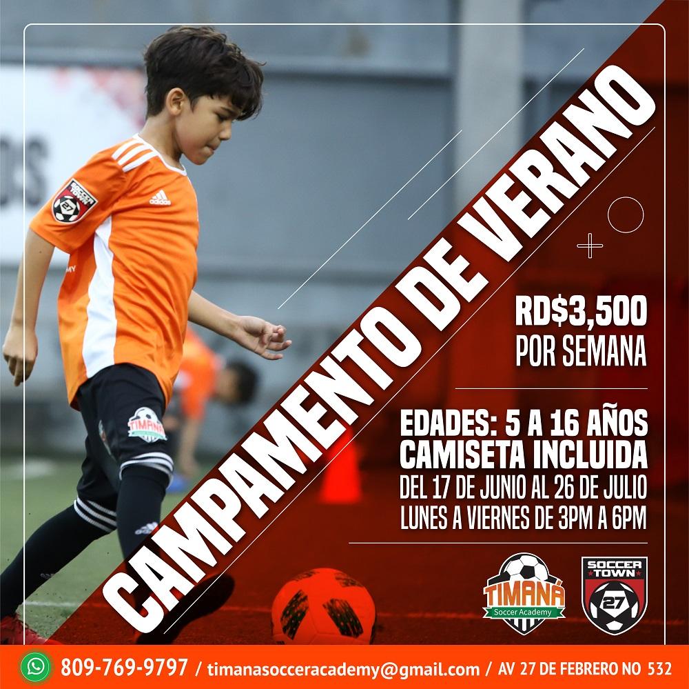 Campamento de Verano Timaná Soccer Academy